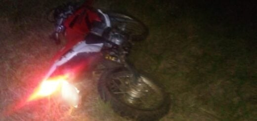 Falleció un hombre tras despistar con su motocicleta en Cerro Corá