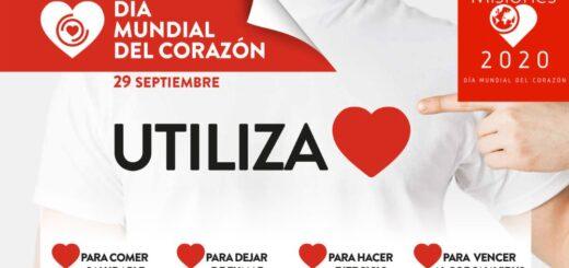 """Mañana se conmemora el Día mundial del corazón y este año el lema es """"utilizá tu corazón"""""""