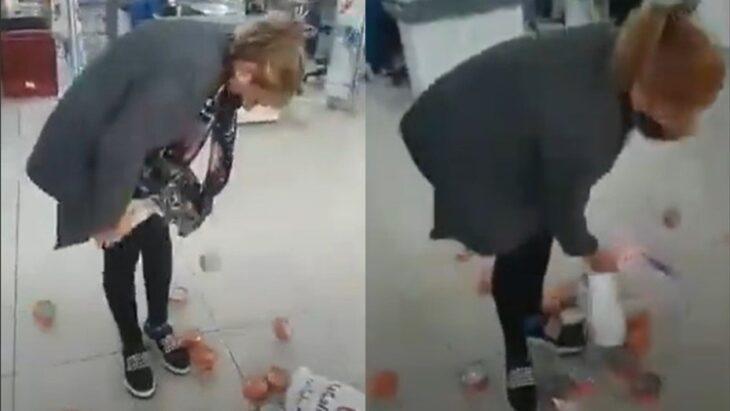 Detuvieron a una mujer que intentó robar 27 latas de atún en un supermercado