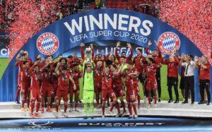 Bayern Múnich venció a Sevilla y se consagró campeón de la Supercopa de Europa