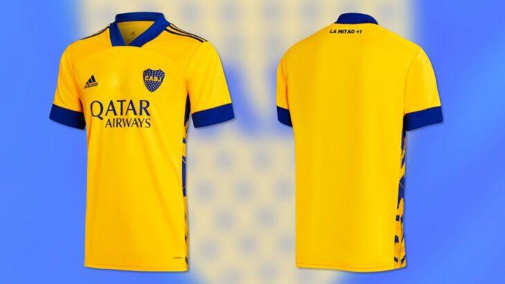 Presentaron la nueva camiseta de Boca en homenaje a La Bombonera