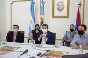 El gobernador Herrera Ahuad lanzó el Deporbono 4 y entregó subsidios a entidades deportivas