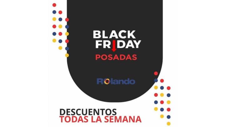 El Black Friday llegó a Rolando Digital: no te pierdas de conocer los grandes descuentos y las múltiples formas de financiación