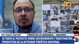El Bloque misionerista votó a favor de la sanción de la ley que declara la Emergencia Turística en la Argentina