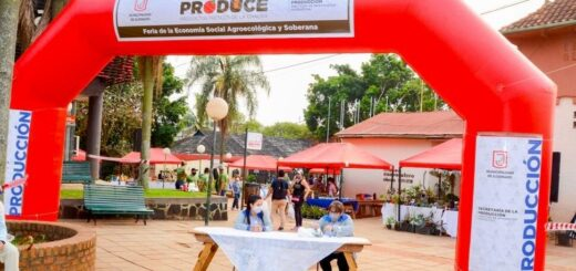 """Hoy volvió a funcionar la """"Feria Eldorado Produce"""" en el Paseo Cooperativo"""