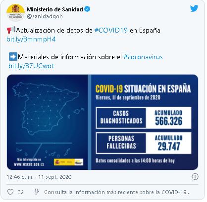 Preocupación en España por el rebrote de coronavirus: más de 12 mil nuevos contagios en un día
