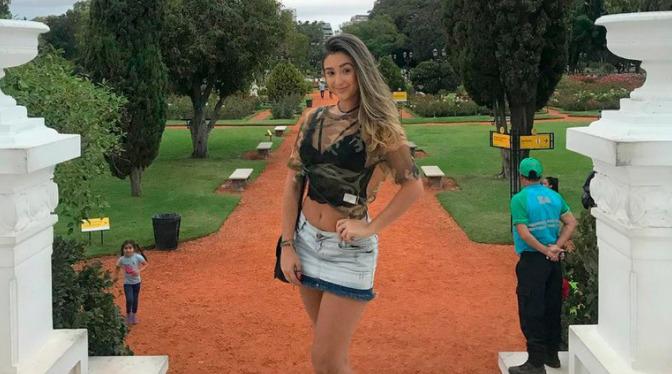 estudiante brasileña
