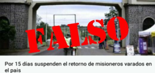 se suspendió el retorno de misioneros