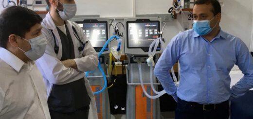 El Hospital Samic Eldorado cuenta con la 1° terapia intermedia de la provincia y continúan los trabajos de puesta en valor