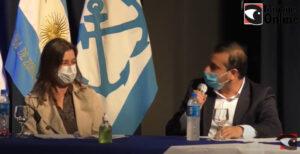 """Herrera Ahuad pidió a Frederic redoblar esfuerzos para custodiar la frontera e insistió en un régimen impositivo diferenciado """"porque hace 50 años que no teníamos una economía equilibrada sin depender de los vaivenes regionales"""""""