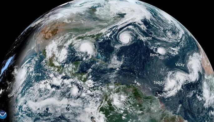 huracán sally