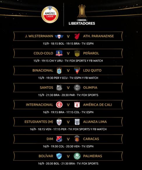 La Copa Libertadores vuelve este martes después de seis meses y tres días de suspensión
