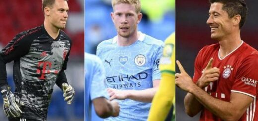 Sin Lionel Messi, ni Cristiano Ronaldo: UEFA anunció los tres candidatos a ganar el premio a mejor jugador del año