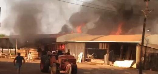 Se incendió una casa y murió un hombre en Posadas