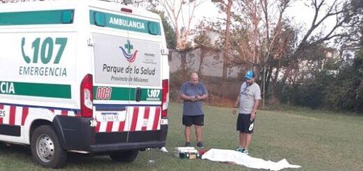 Un hombre murió mientras jugaba al fútbol en el club del IPS en Posadas