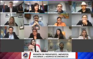 VIVO, Presupuesto 2021: Sebastian Macías de Vialidad, ante los legisladores misioneros