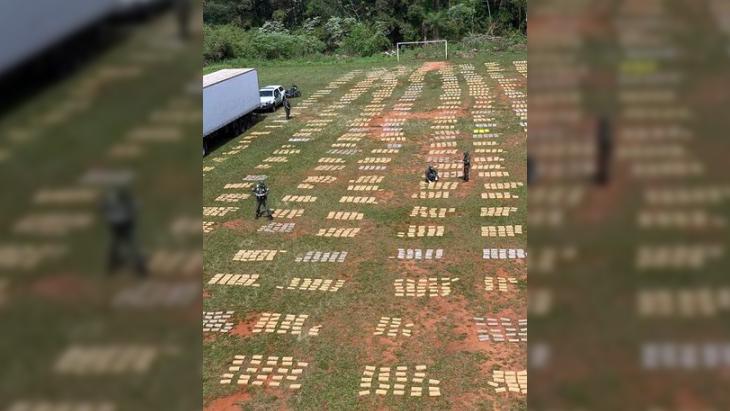Secuestran en Misiones más de 9 toneladas de marihuana en un camión que llevaba pollos
