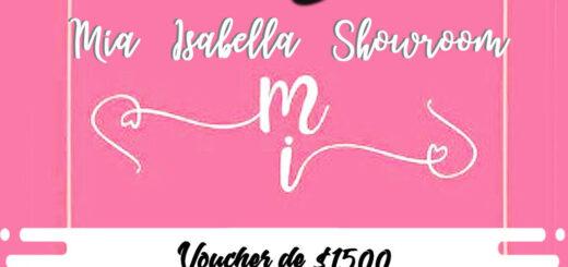 """Delivery Posadas: esta semana participá para llevarte una orden de compras de """"Mia Isabella"""""""