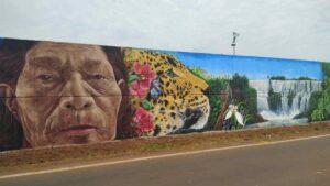 A un año de proyectar el mural más largo del mundo destacan el trabajo artístico que logró el récord Guinness