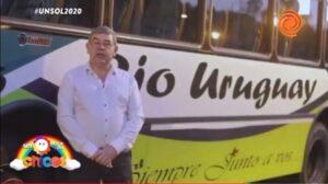 La empresa de transporte Río Uruguay donó más de 700 mil pesos en un Sol para los Chicos de Unicef