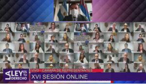 VIVO: sesiona el Parlamento virtual misionero