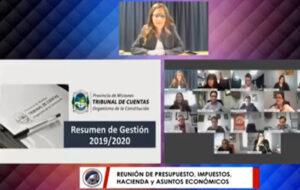 VIVO, Presupuesto 2021: Fabiola Bianco explica los ejes de su gestión y la previsión de gastos en la Legislatura misionera
