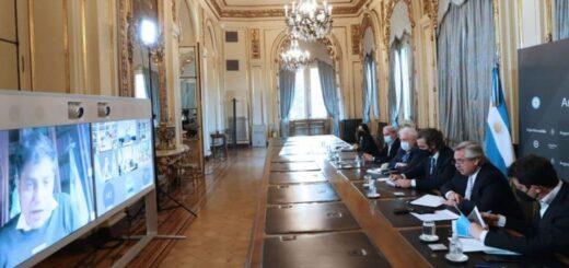 Coronavirus: el Presidente analizó la situación sanitaria de Argentina junto a los gobernadores