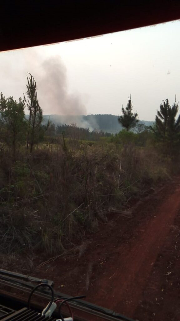 Un hombre de 59 años murió calcinado por las llamas cuando quemaba basura en su chacra