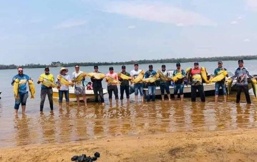 pesca furtiva en el Rio Paraná