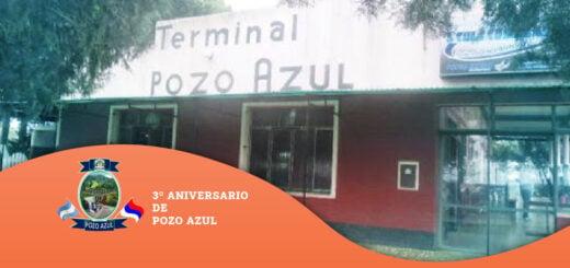 La localidad de Pozo Azul celebra el 3° año desde su municipalización