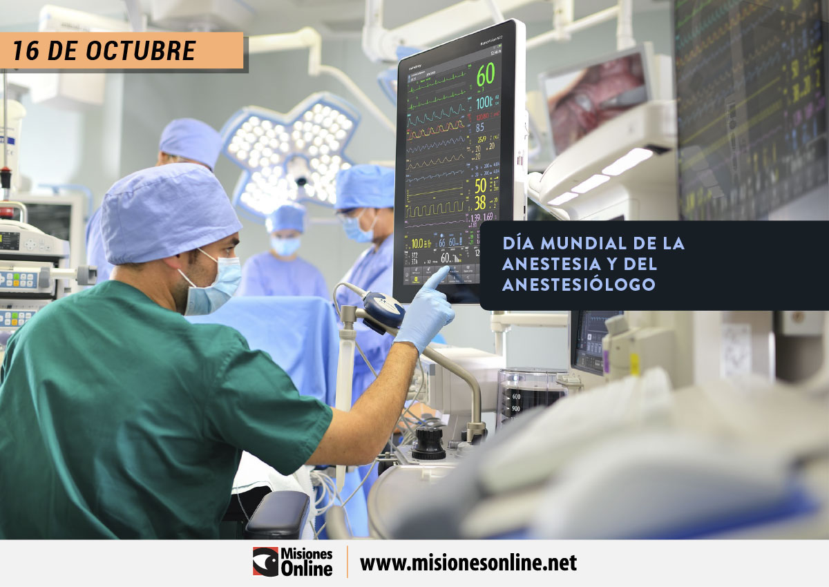 Día Mundial de la Anestesia y del Anestesiólogo