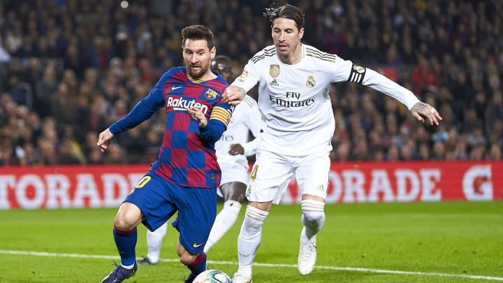Clásico de infarto: Barcelona y Real Madrid definen mañana quién lidera el historial