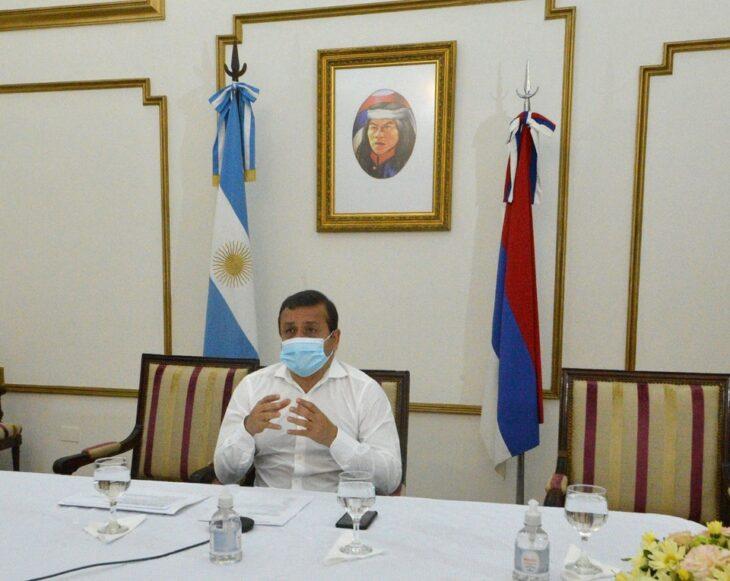 El Gobernador Herrera Ahuad reunió virtualmente a algunos intendentes misioneros