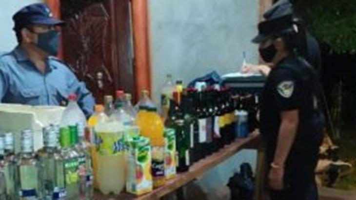 Unas 20 personas fueron multadas por una fiesta clandestina en Bernardo de Irigoyen