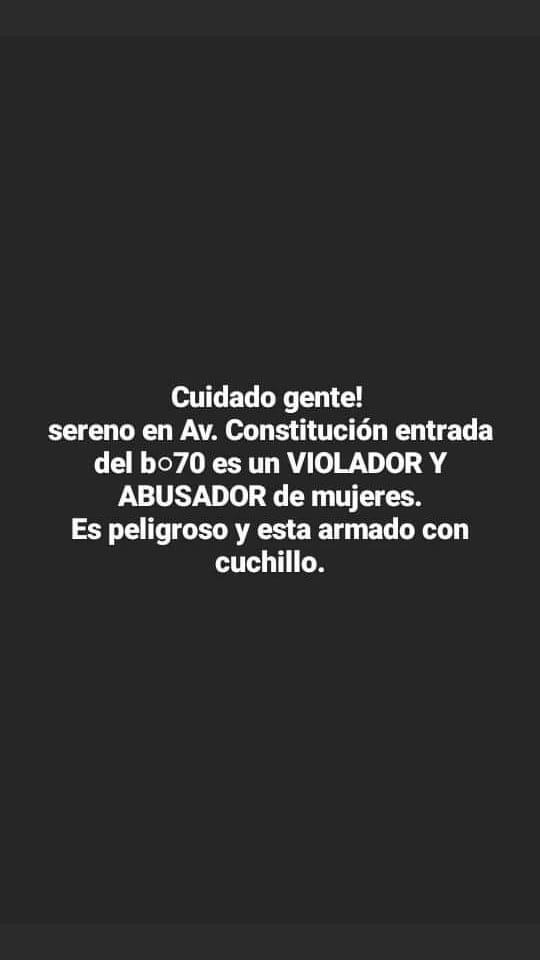 """En San Vicente, un DJ denunció que el hombre que había abusado de su pareja tiempo atrás, lo atacó con un cuchillo y le dijo """"maté a Carballito y te voy a matar"""""""