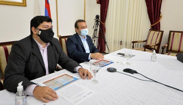 El Gobernador de Misiones y el ministro de Cultura de la Nación anunciaron nuevas becas para el sector de la cultura