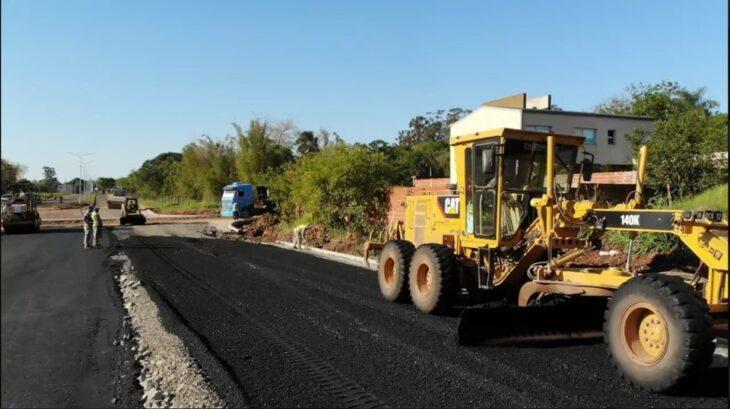 Posadas: el Plan Avenidas benefició a residentes de la Chacra 77