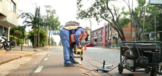 Amplían el radio de las ciclovías por la avenida Rademacher de Posadas