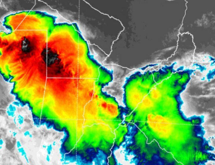 Una fuerte tormenta se acerca a Misiones y empezaría a llover durante la madrugada