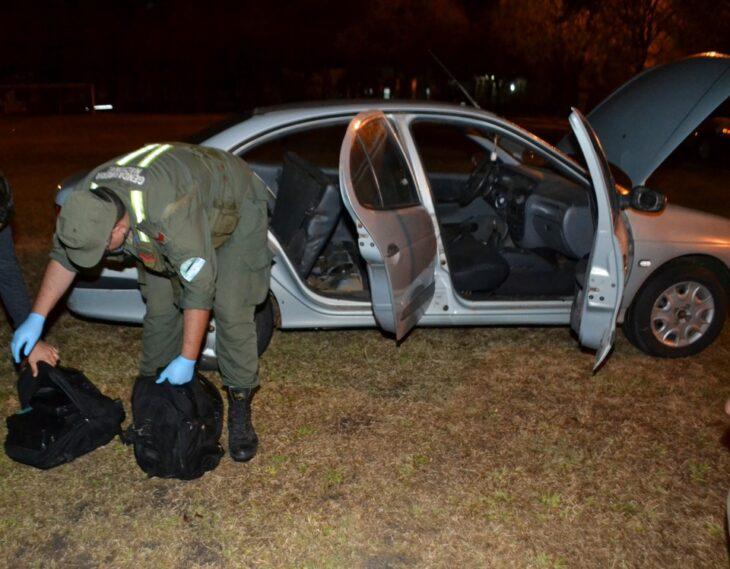 Gendarmería incautó más de 28 kilogramos de cocaína en Itatí