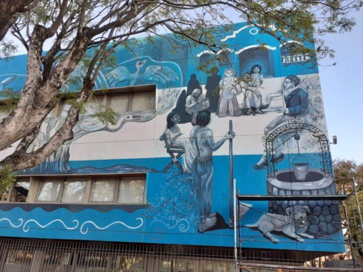 Paredes que narran historias: comenzó la convocatoria para el segundo concurso de obras murales en el Museo Regional Aníbal Cambas