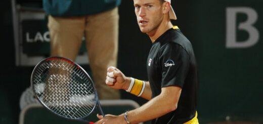 Diego Schwartzman venció a Lorenzo Sonego y avanzó a cuartos de final de Roland Garros