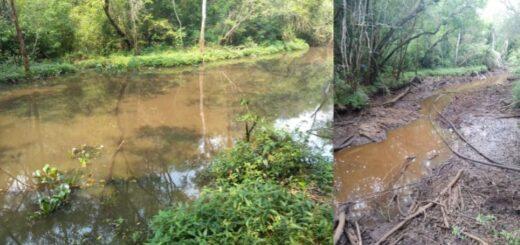 Vaciaron la laguna donde apareció el cuerpo sin vida de César Tizato