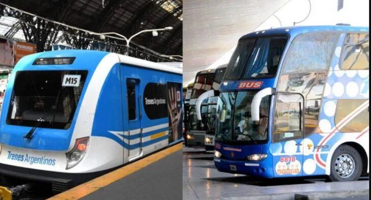 El Gobierno nacional autorizó el regreso de micros y trenes de larga distancia