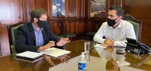 El Secretario de Energía de la Nación Darío Martínez recibió al Director Ejecutivo de la EBY
