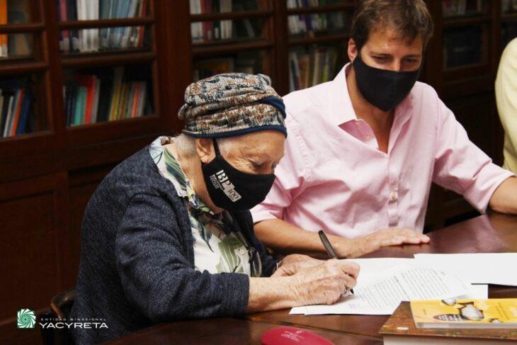 Yacyretá firma Convenio de Cooperación con la Biblioteca Popular Posadas