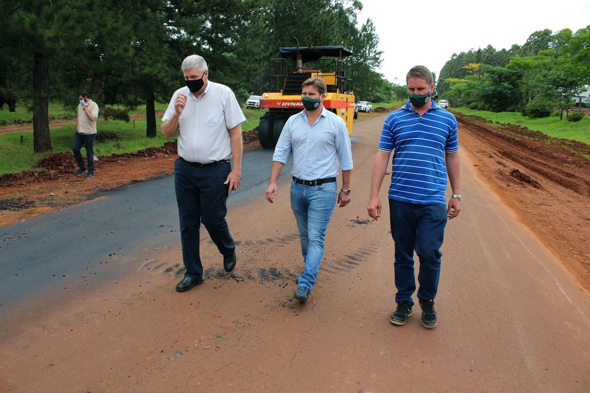 Vialidad de Misiones repara las Rutas Provinciales Nº 6 y N° 9