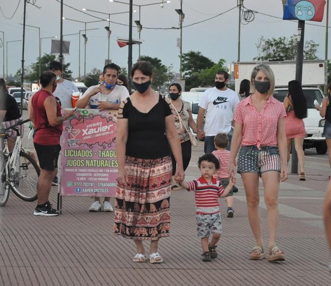 Día de la Madre en la Costanera de Posadas: mirá las mejores imágenes