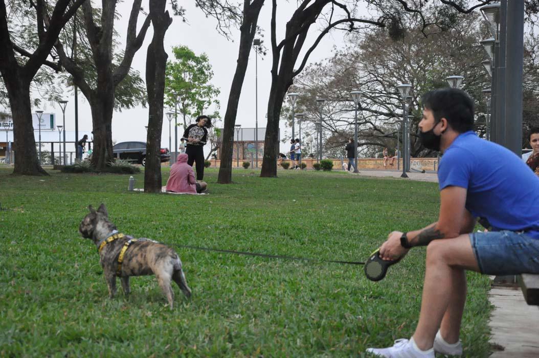 Los posadeños aprovecharon la jornada primaveral para realizar actividades recreativas