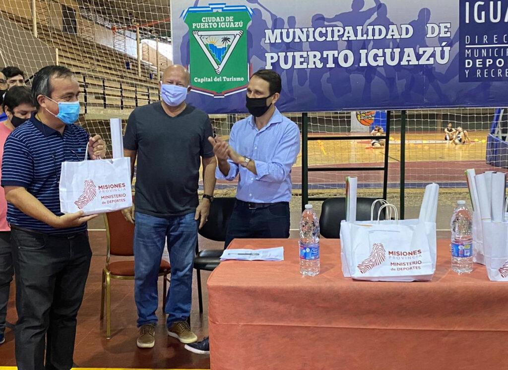 El Ministerio de Deportes sigue acompañando a entidades deportivas provinciales